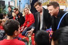 Para Bintang Avengers: Endgame Beri Kejutan Anak-anak di Disney