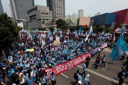 Unsur Buruh Tak Diajak Berunding, KSPI Tolak Rencana Kenaikan UMP pada 2020
