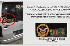 Siap-siap, Travel Gelap Berstiker Sinergitas TNI, Polri, dan Dishub Bakal Ditindak Polisi