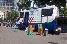 Jelang Batas Akhir Penghapusan Denda, Mobil Samsat Keliling Ditempatkan di CFD Bundaran HI