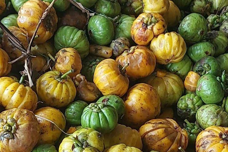 Asam gelugur (Gracinia artoviridis/Gracinia cambogia) ini merupakan komoditas ekspor asal Sumatera Utara yang berhasil menembus China, India dan Malaysia pada triwulan pertama tahun 2021 sebanyak 379,18 ton senilai Rp 5,95 miliar. Ekspor asam gelugur yang terakhir sebanyak 20 ton dengan negara tujuan ke China.