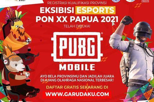 16 Tim Akan Berlaga di Grand Final PUBG Mobile PON XX PAPUA 2021
