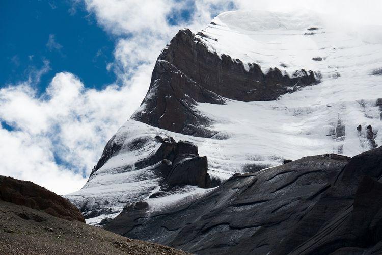 Gunung Kailash di Tibet