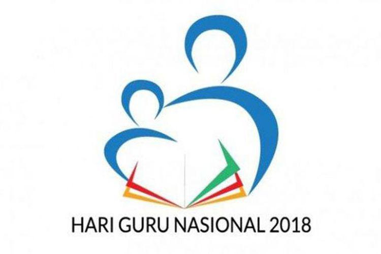 Logo Hari Guru Nasional 2018(Dok. Kemendikbud)