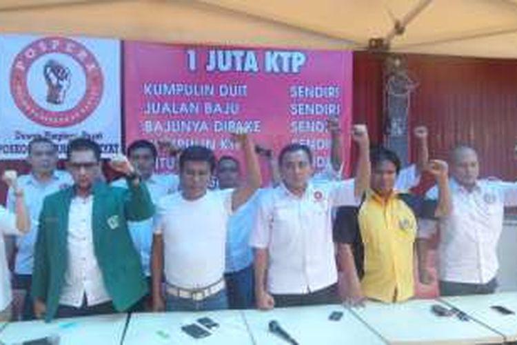 Sabtu (25/6/2016), Posko Perjuangan Rakyat (Pospera) membantah pihaknya mengintervensi pengakuan kelima mantan pengumpul KTP Ahok