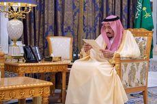 Pasca Penangkapan Anggota Kerajaan, Arab Saudi Rilis Foto Raja Salman di Istana