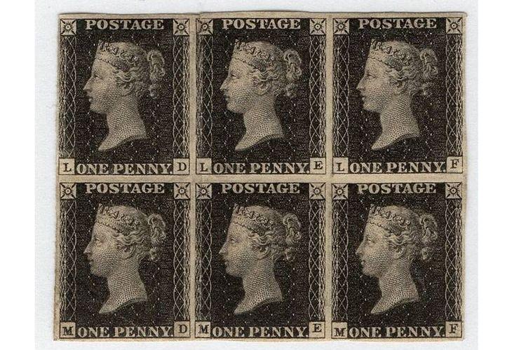 Penny Black prangko pertama dunia