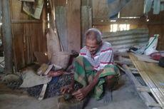 Kisah Kakek Germanus, Puluhan Tahun Hidup di Gubuk Reyot Tanpa Listrik, Makan dari Belas Kasih Tetangga