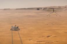 Kabar Terbaru Helikopter Ingenuity NASA, Selamat dari Ganasnya Suhu Beku Mars