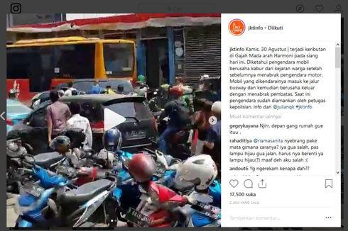 Pengemudi Livina Konsumsi Sabu di Parkiran Lokasari Sebelum Tabrak Pengendara Motor
