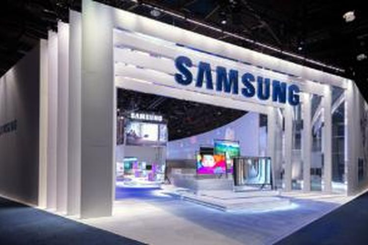Desain boot pameran Samsung