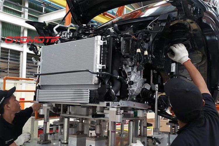 Pabrik perakitan generasi kedua BMW X1 di Sunter, Jakarta Utara.