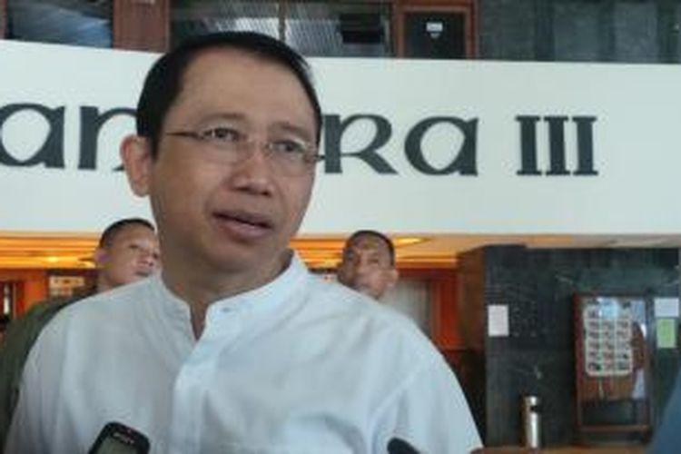 Ketua Dewan Perwakilan Rakyat Marzuki Alie