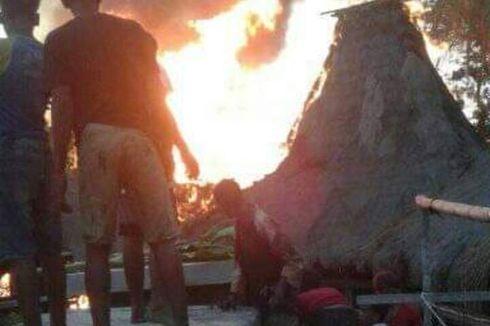 Sumber Api yang Hanguskan 22 Rumat Adat Sumba Barat Berasal dari Rumah yang Tak Dihuni