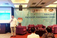 Jababeka Sosialisasikan Pencegahan Virus Corona di Kawasan Industri