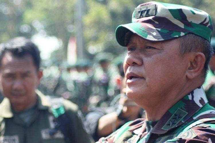 Letjen TNI Ganip Warsito.