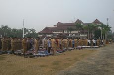 2 Jam Setelah Shalat Istisqa, Bangka Belitung Diguyur Hujan Lebat