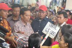 Belanja Sepatu dan Baju Kotak-kotak, Jokowi Bikin Heboh Pengunjung ITC Depok