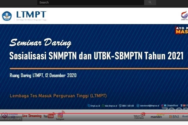 Mekanisme Pelaksanaan SNMPTN 2021