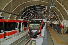 Erick Thohir Optimistis Proyek LRT Jabodebek dan KCIC Rampung Akhir 2021