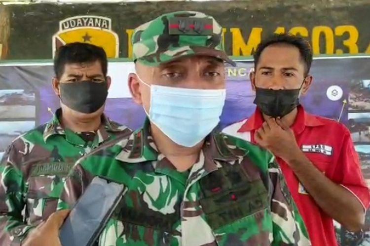 Dandim Kodim 1603 Sikka, Komandan Distrik Militer (Dandim) 1603 Sikka, Letnan Kolonel Inf M Zulnaendra Utama.