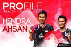 INFOGRAFIK: Profil Ahsan/Hendra, Juara Dunia Badminton 2019