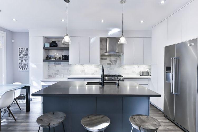 Ilustrasi dapur modern