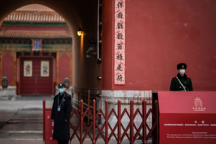Dikarenakan virus corona, Museum Istana di Kota Terlarang, Beijing, tutup mulai 23 Januari. Tetapi, museum tersebut tetap menawarkan wisata daring dalam bahasa Tionghoa.