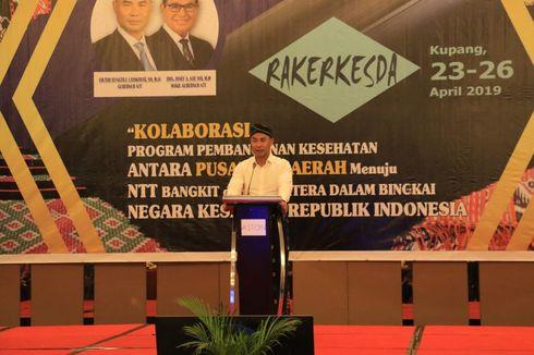 Dua Permintaan Gubernur NTT Saat Temani Jokowi Resmikan Bendungan Rotiklot...