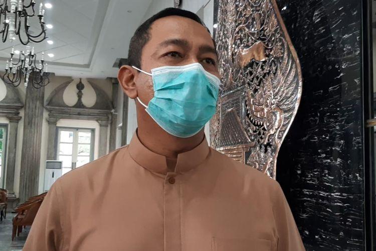 Wali Kota Semarang Hendrar Prihadi di kantornya  Jumat (7/5/2021).