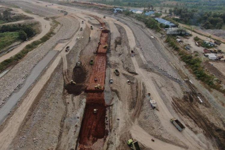 Bendungan Semantok Ditargetkan Rampung dan Mulai Impounding Tahun 2022