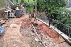 Ada Tanah Longsor, Warga Jati Padang Jadi Waswas