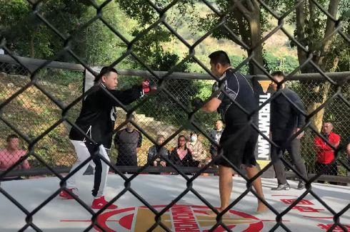[VIDEO] Ahli Tai Chi Tantang Petarung MMA, Kalah dalam 10 Detik