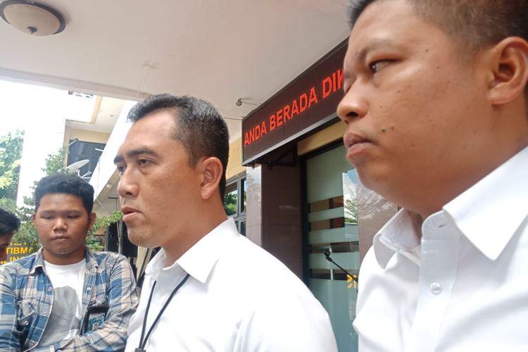 Kasat Reskrim Polres Jakarta Selatan, AKBP Mochammad Irwan Susanto saat ditemui di Polres Jakarta Selatan, Senin (10/2/2020).