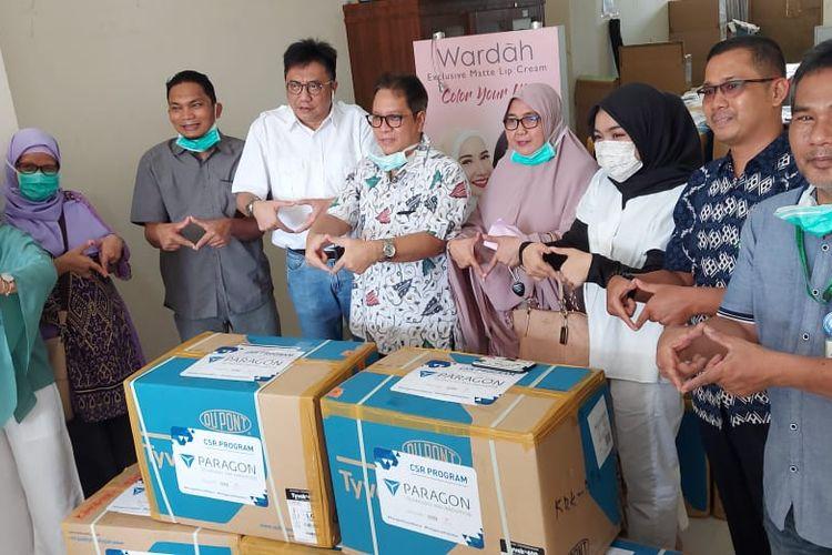 Paragon telah menyalurkan bantuan senilai Rp. 40 miliar dan telah mendistribusikan bantuan alat kesehatan dan APD untuk 130 rumah sakit.