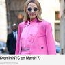 Ketika Celine Dion Pakai Busana Serba Pink...