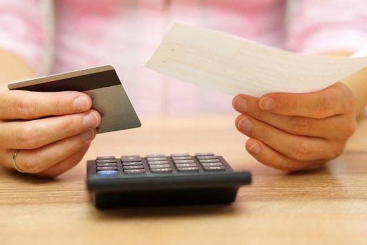 Ilustrasi kartu kredit.