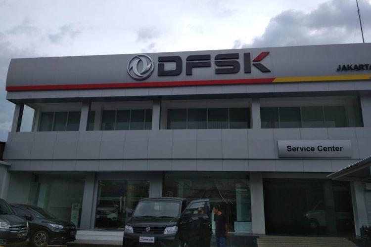 Salah satu dealer DFSK di Jakarta Timur.