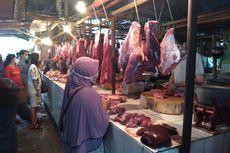 Pedagang Daging Sapi di Pasar Kranji Kembali Berjualan, Harga Dipatok Rp 125.000 Per Kg