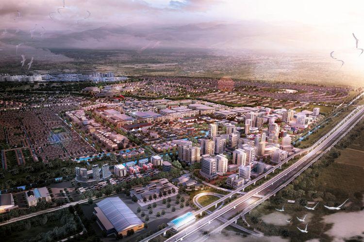 Kota Jababeka siap menjadi salah satu pusat pertumbuhan ekonomi di Indonesia