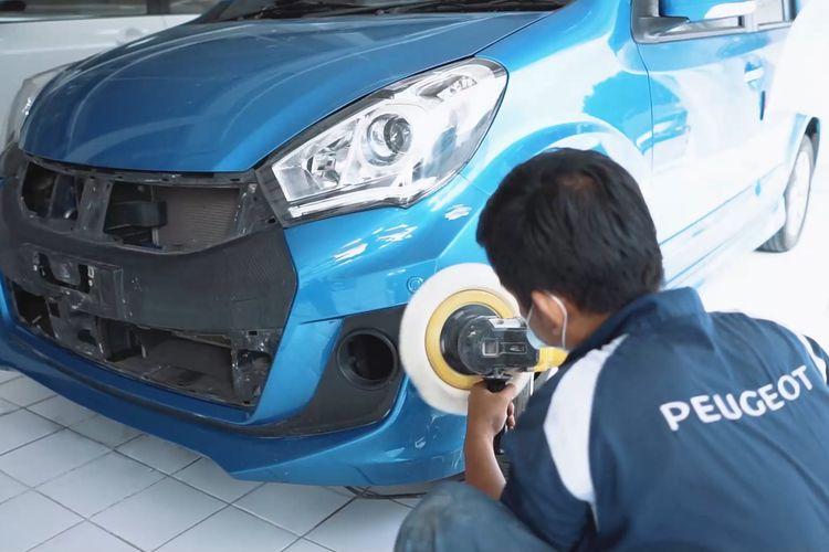 Bengkel Body & Paint Astra Peugeot tak cuma menerima pengerjaan merek Peugeot tapi juga merek lain.