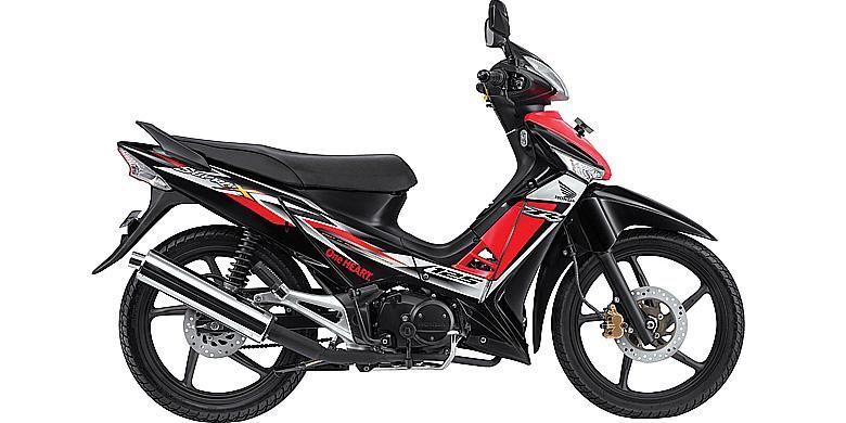 Honda Supra X 125 R Non Helm In Segera Meluncur