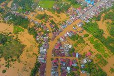 Banjir di Rokan Hulu Memutus Jalur Riau-Sumatera Utara