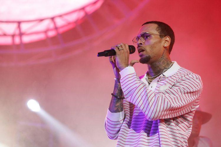Penyanyi asal Amerika Serikat, Chris Brown.