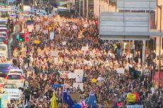 Sejumlah Kota di Australia Dikepung Massa Anti-lockdown Saat Kasus Covid-19 Melonjak Lagi