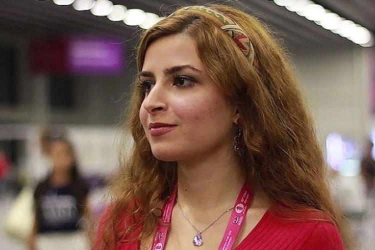 Dorsa Derakhshani (18), pecatur perempuan belia asal Iran.