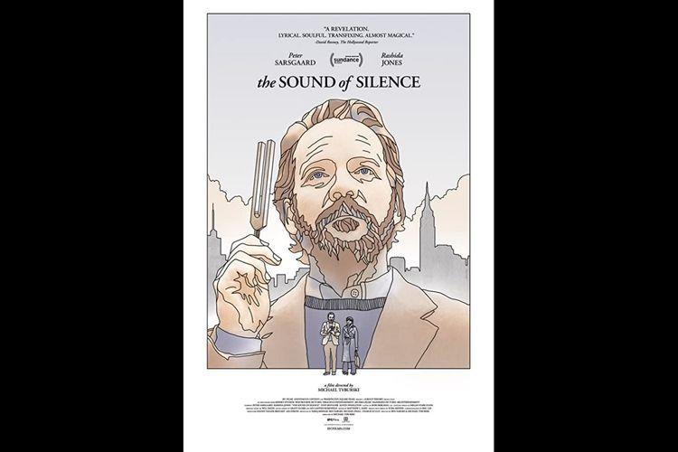 Peter Sarsgaard dan Rashida Jones dalam film drama The Sound of Silence (2019).