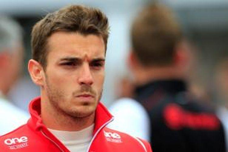 Pebalap Marussia asal Perancis, Jules Bianchi.