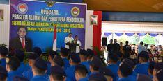 Jadi Calon Pemimpin Bangsa, Menhan Minta Lulusan SMAN TN Miliki Integritas Pancasilais