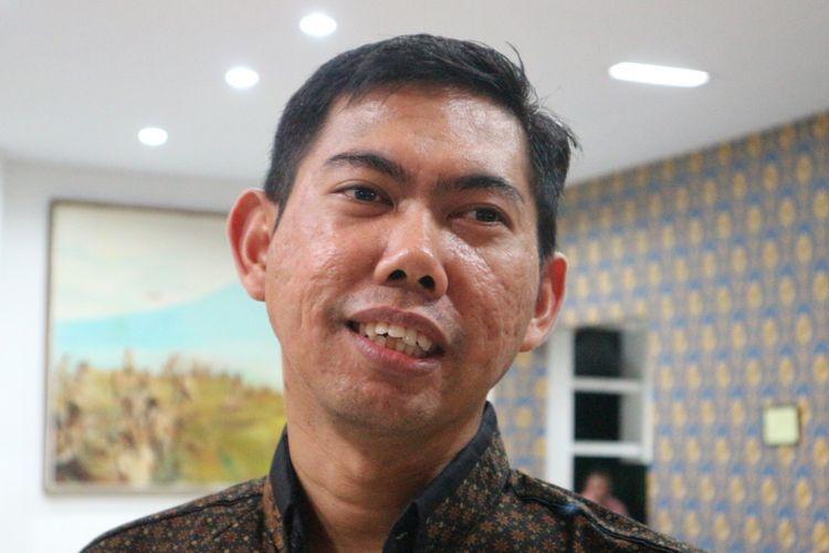 Direktur Pusat Pengkajian Pancasila dan Konstitusi (Puskapsi) Fakultas Hukum Universitas Jember Bayu Dwi Anggonoketika ditemui di Jember, Jawa Timur, Jumat (10/11/2017).